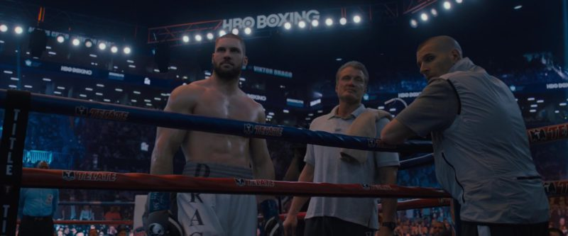 HBO Boxing and Tecate in Creed 2 (2018) Movie Product Placement
