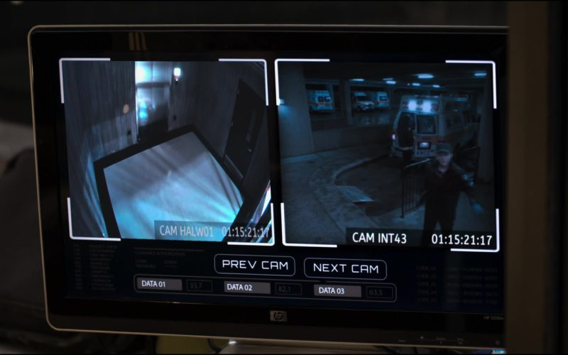 HP Monitor in The Possession of Hannah Grace