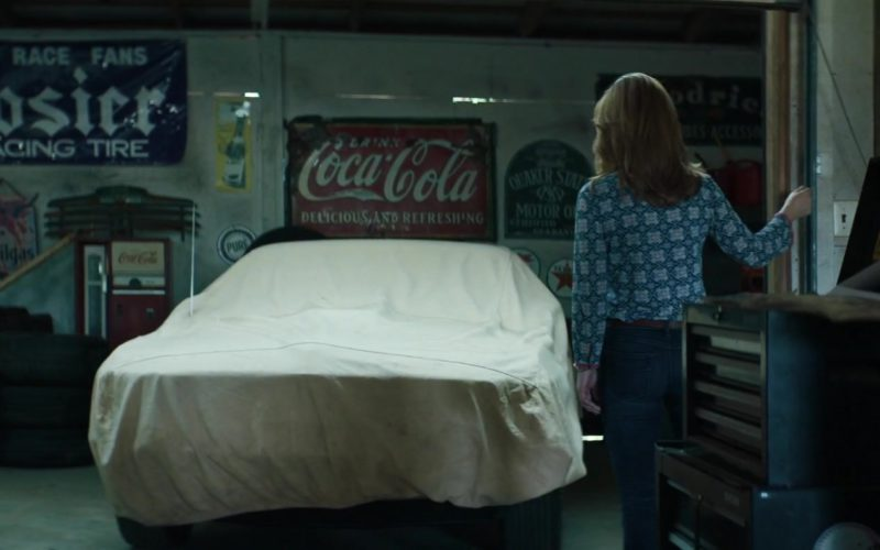 Hoosier Racing Tire and Coca-Cola Signs in Trading Paint (1)