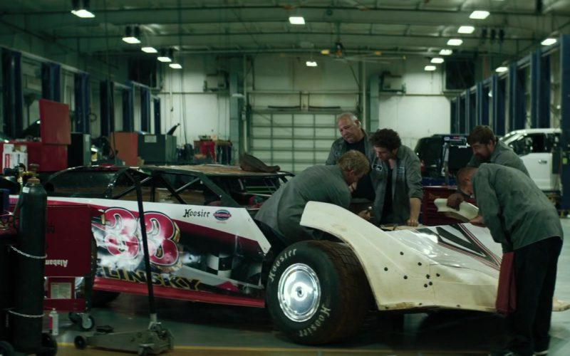 Hoosier Racing Tires in Trading Paint