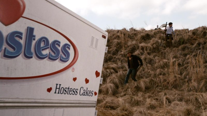 Hostess Cakes Truck in Zombieland (2009) Movie Product Placement