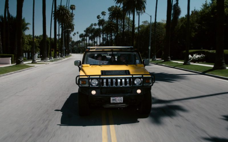 Hummer H2 Yellow SUV in Zombieland (18)