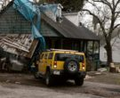 Hummer H2 Yellow SUV in Zombieland (6)