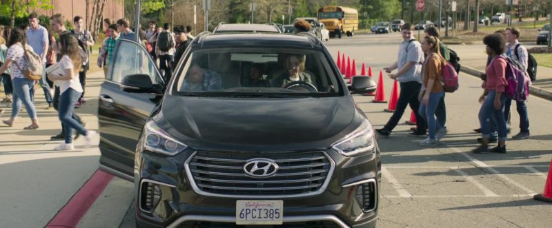 Hyundai Santa Fe Car in Instant Family (2018) Movie Product Placement