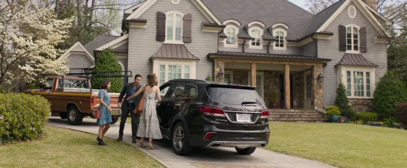 Hyundai Santa Fe Car In Instant Family 2018 Movie