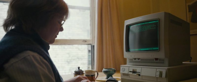 IBM Monitor and PC Computer Used by Melissa McCarthy in Can You Ever Forgive Me? (2018) Movie Product Placement