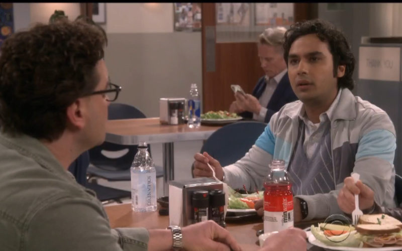 Icelandic Glacial Bottled Water in The Big Bang Theory (1)