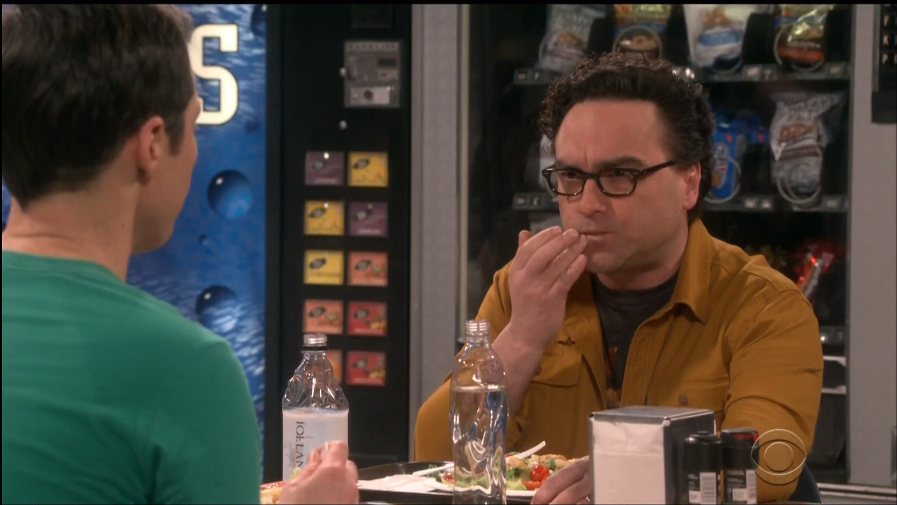 Icelandic Glacial Bottled Water In The Big Bang Theory