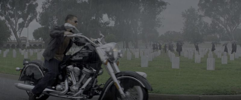 Indian Chief Motorcycle Used by Channing Tatum in G.I. Joe: The Rise of Cobra (2009) Movie