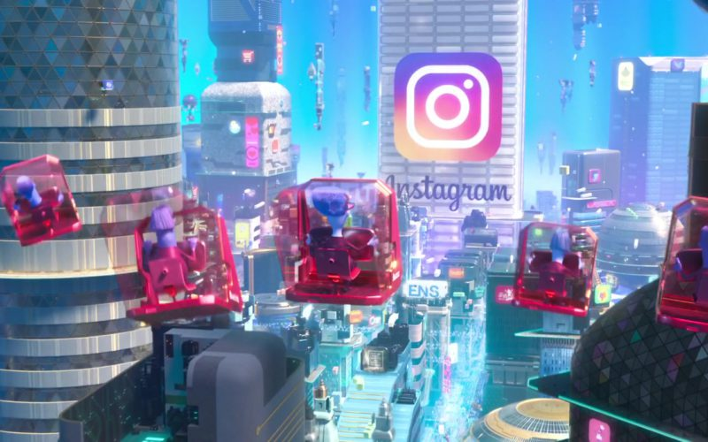 Instagram Social Network Building in Ralph Breaks the Internet (1)