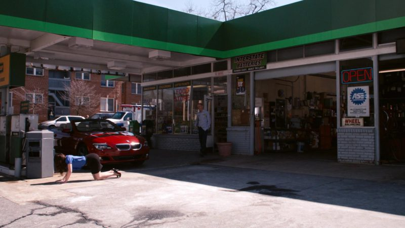 Interstate Batteries Sign in Zombieland (2009) - Movie Product Placement