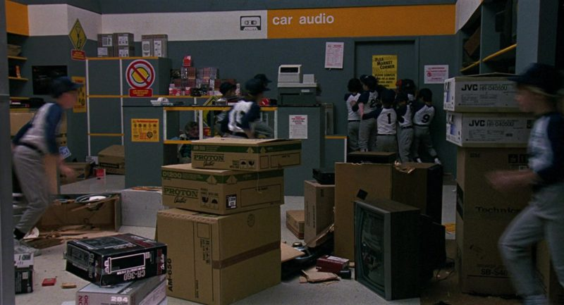 JVC and Proton in RoboCop 2 (1990) - Movie Product Placement
