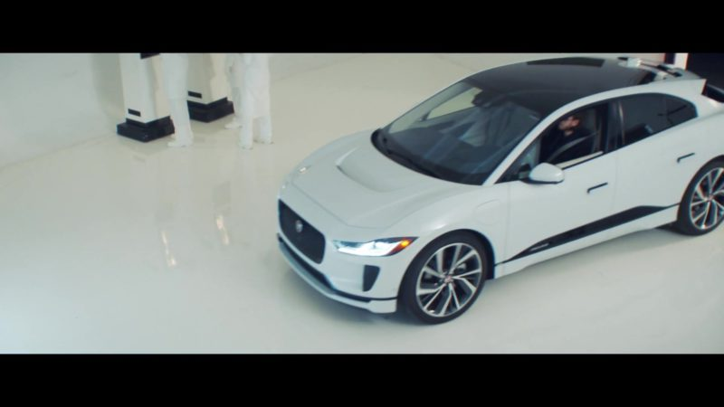 Jaguar I-Pace Electric White Car in 365 by Zedd ft. Katy Perry (2019) - Official Music Video Product Placement