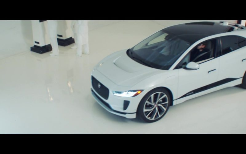 Jaguar I-Pace Electric White Car in 365 by Zedd ft. Katy Perry (1)