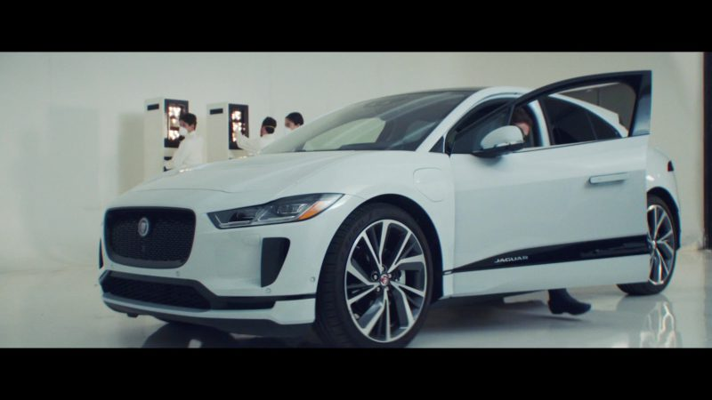 Jaguar I-Pace Electric White Car in 365 by Zedd ft. Katy Perry (2019) Official Music Video Product Placement