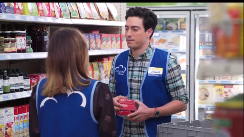 Jel Sert Royal Gelatin and Pam in Superstore TV Show Product Placement