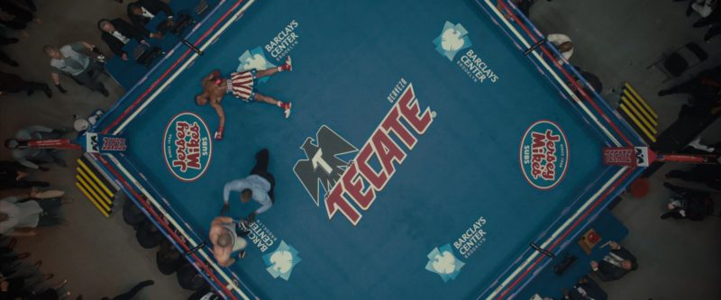 Jersey Mike's Subs, Tecate & Barclays Center Boxing Ring in Creed 2 (2018) - Movie Product Placement