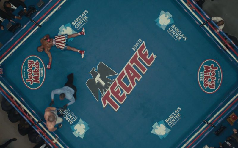 Jersey Mike's Subs, Tecate & Barclays Center Boxing Ring in Creed 2 (1)