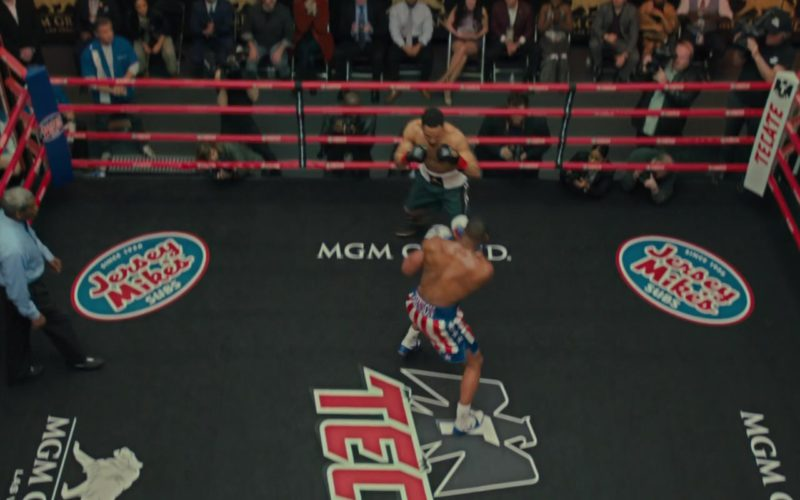 Jersey Mike's Subs, Tecate, MGM Grand in Creed 2