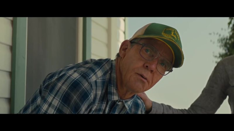 John Deere Cap Worn by Dennis Quaid in A Dog's Journey (2019) Movie Product Placement