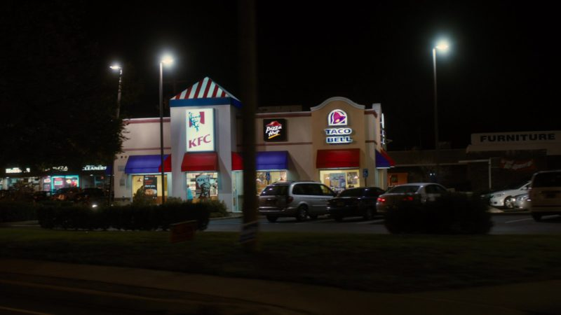 KFC, Pizza Hut, Taco Bell in Young Adult (2011) Movie Product Placement