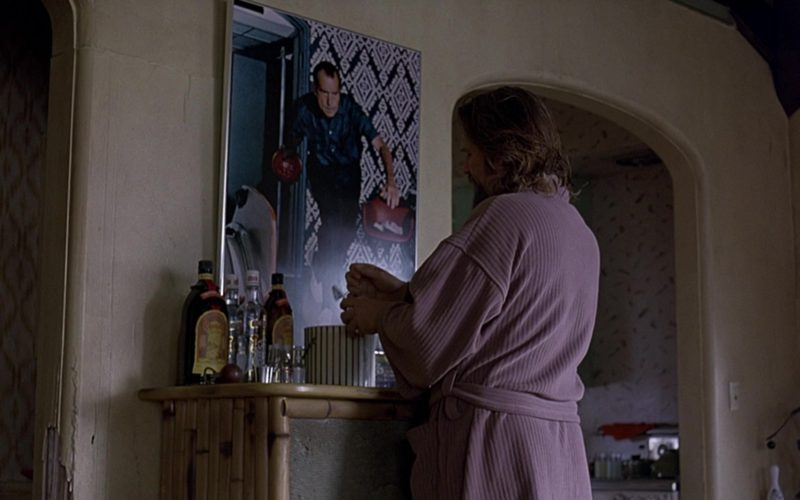 Kahlúa Liqueur and Smirnoff Vodka in The Big Lebowski (1)