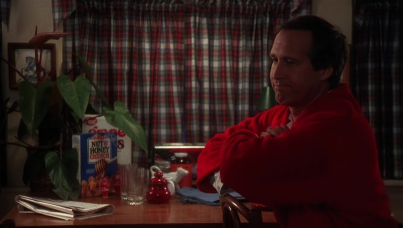 Kellogg's Nut and Honey Crunch Cereal in National Lampoon's Vacation (1983) Movie Product Placement