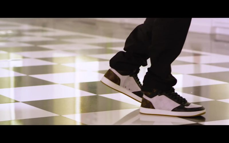 "LV Sneakers Worn by Juvenile in ""Just Another Gangsta"" (1)"