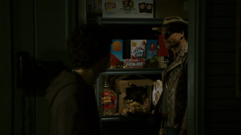 Lay's Chips and Charms Blow Pops in Zombieland (2009) Movie Product Placement