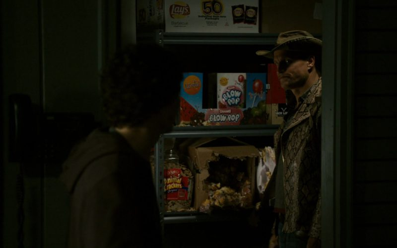 Lay's Chips and Charms Blow Pops in Zombieland