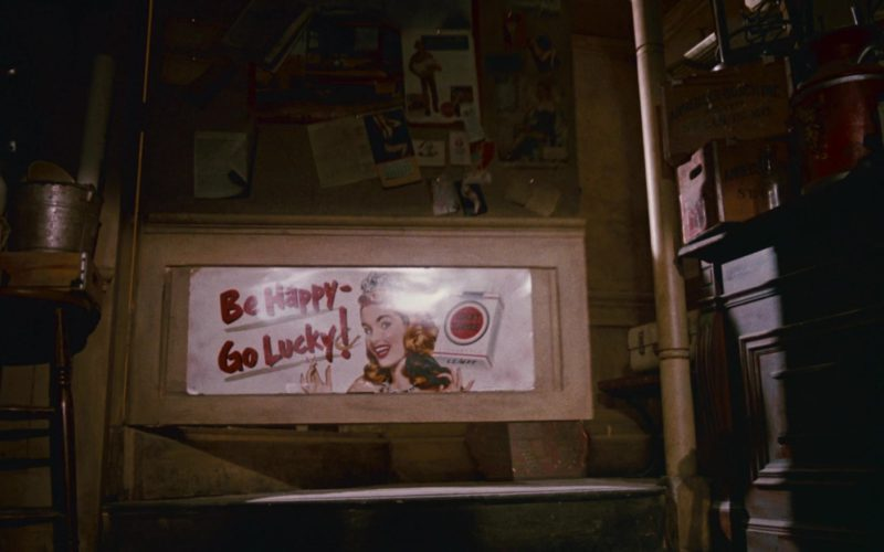 Lucky Strike Cigarettes Poster Be Happy – Go Lucky! in Who Framed Roger Rabbit