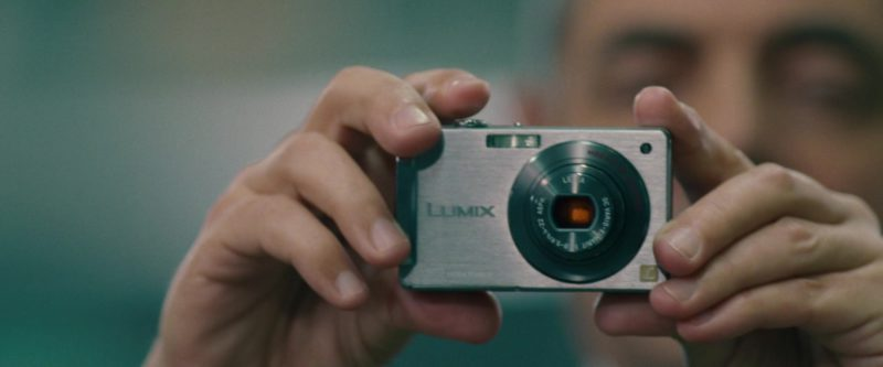 Lumix Camera Used by Rowan Atkinson in Johnny English Reborn (2011) - Movie Product Placement