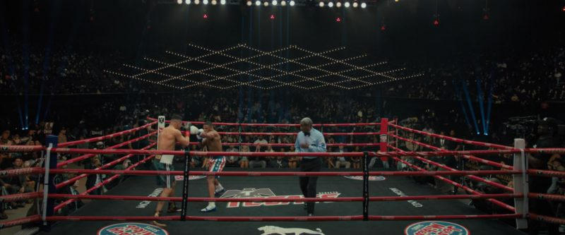 MGM Grand x Tecate Beer Boxing Ring in Creed 2 (2018) - Movie Product Placement