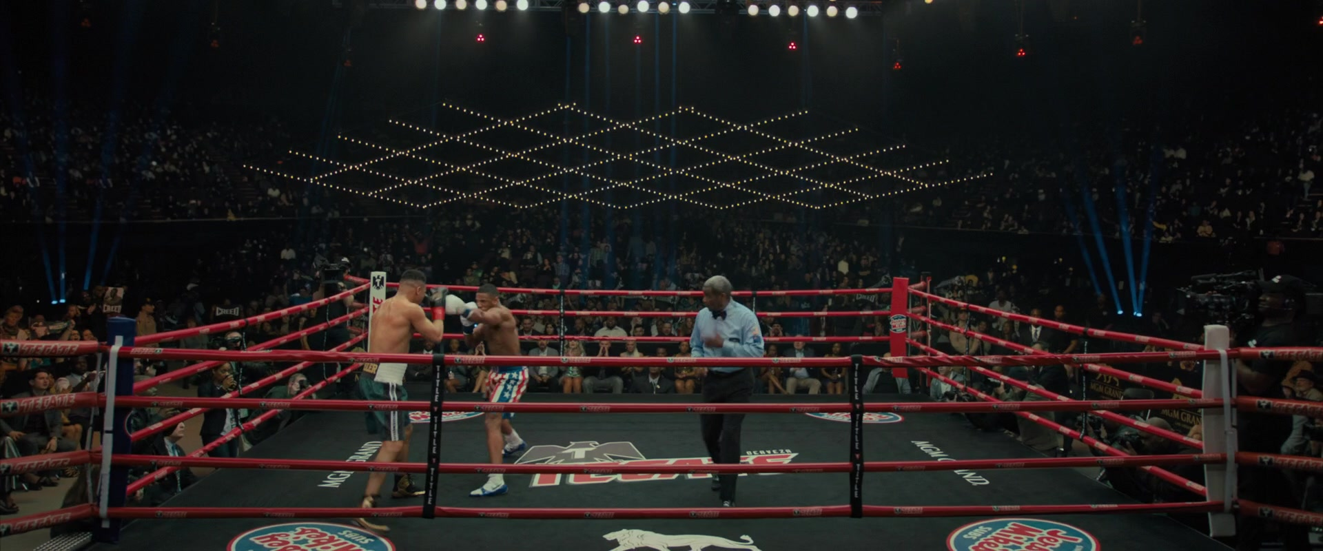 Infiniti Of Troy >> MGM Grand x Tecate Beer Boxing Ring in Creed 2 (2018) Movie