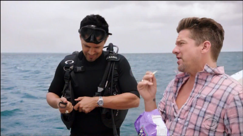 Tim's Hawaiian Kettle Style Sweet Maui Onion Potato Chips in Magnum P.I. TV Show Product Placement