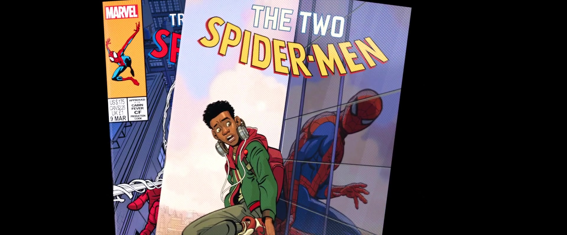 Marvel Comics In Spider Man Into The Spider Verse 2018