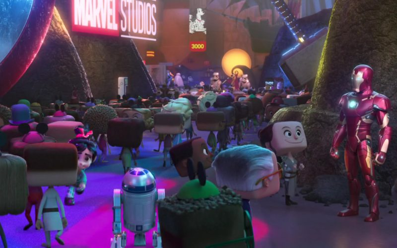 Marvel Studios Sign in Ralph Breaks the Internet (1)