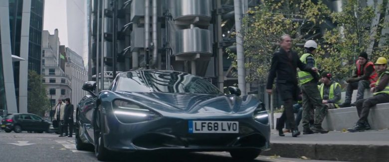 McLaren 720S Sports Car in Fast & Furious Presents: Hobbs & Shaw (2019) Movie