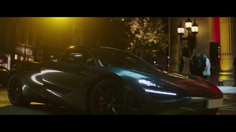 Mclaren 720s Sports Car In Hobbs And Shaw 2019 Movie