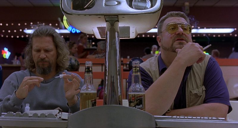 Miller Genuine Draft Beer Drunk by Jeff Bridges & John ...