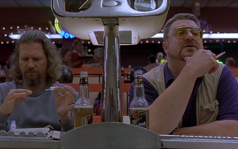 Miller Genuine Draft Beer Drunk by Jeff Bridges & John Goodman in The Big Lebowski (1)