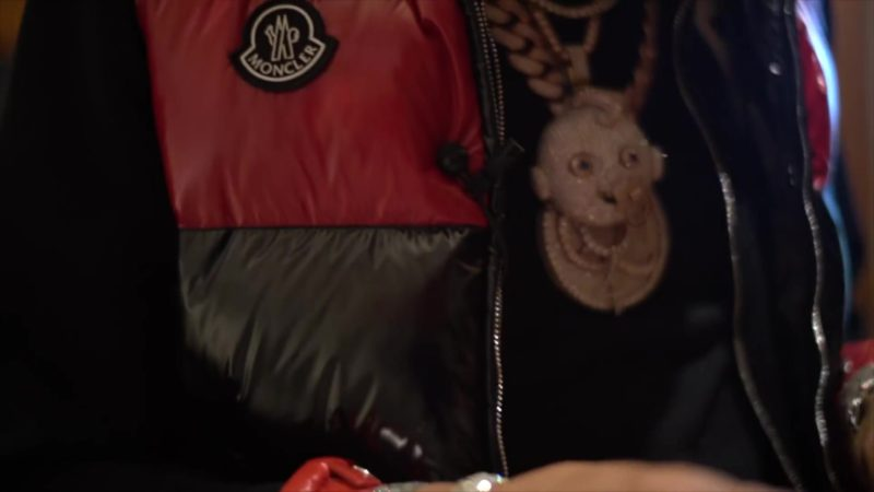 Moncler Jacket Worn by Lil Baby in Global (2019) Official Music Video Product Placement