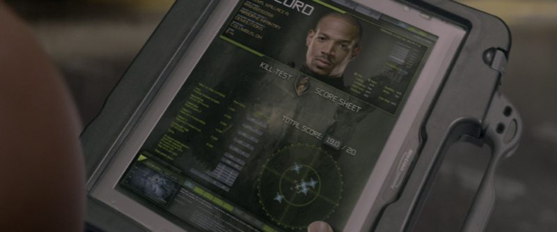 Motion Computing Tablet PC in G.I. Joe: The Rise of Cobra (2009) - Movie Product Placement