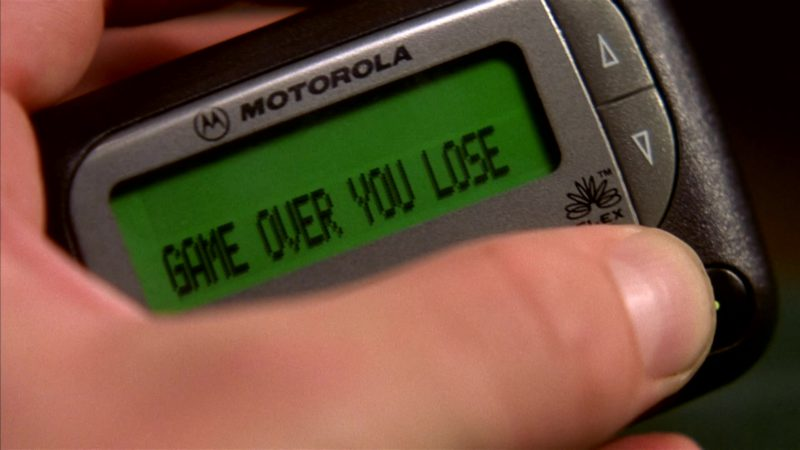 Motorola Pager in I'll Be Home for Christmas (1998) - Movie Product Placement