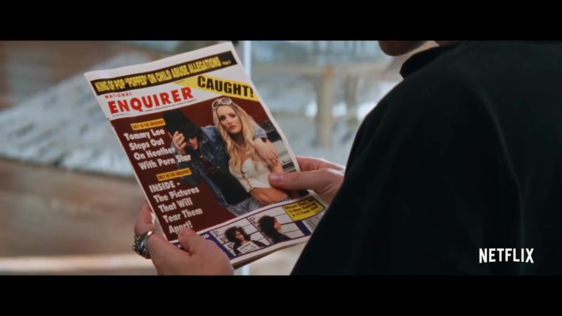 National Enquirer Tabloid in The Dirt (2019) - Movie Product Placement