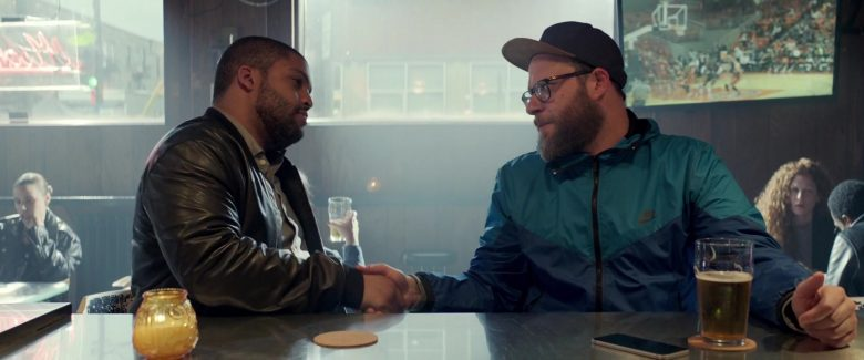 Nike Jacket Worn by Seth Rogen in Long Shot (2019) Movie Product Placement