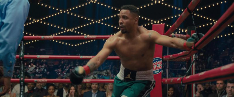 Nike Jordan Boxing Shorts in Creed 2 (2018) - Movie Product Placement