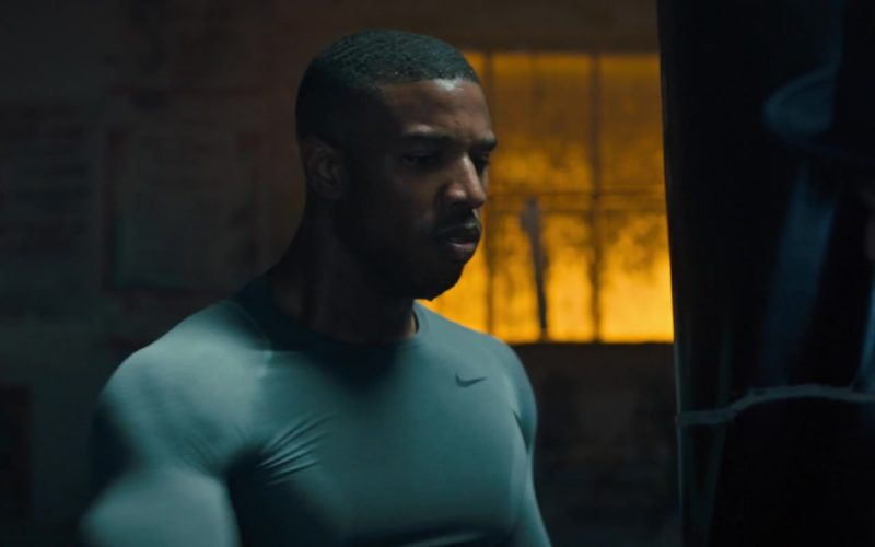 5173df7330f42f Nike Men s Long Sleeve Top Worn by Michael B. Jordan in Creed 2 (2018)