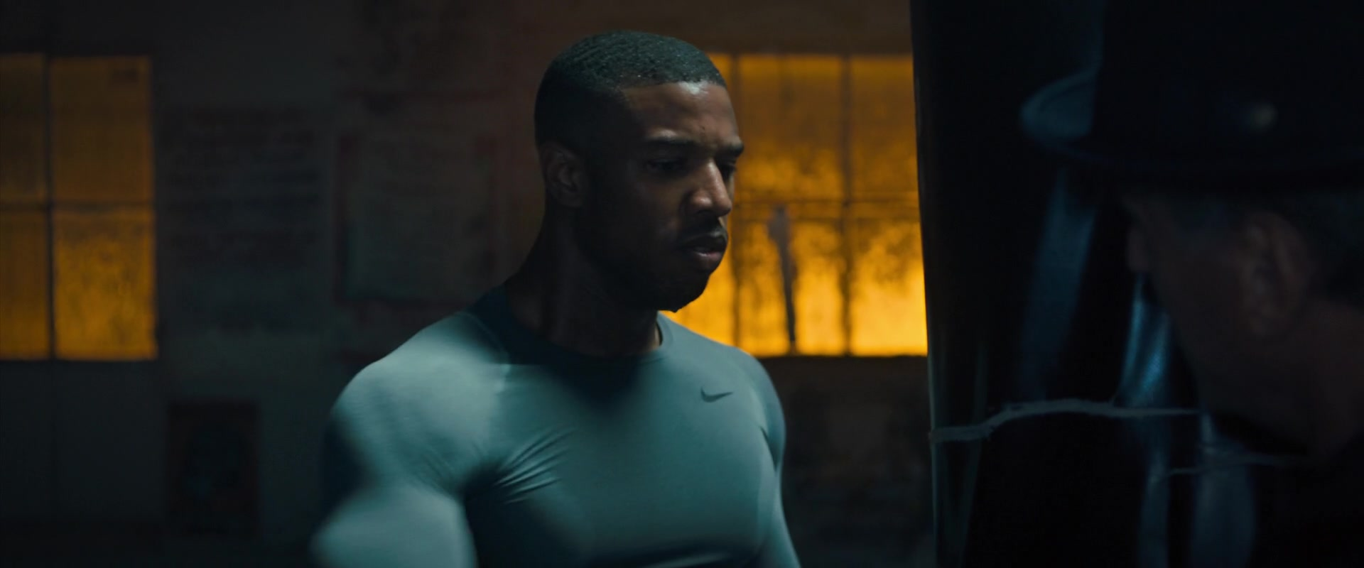 86944da41b5d96 Nike Men s Long Sleeve Top Worn by Michael B. Jordan in Creed 2 (2018