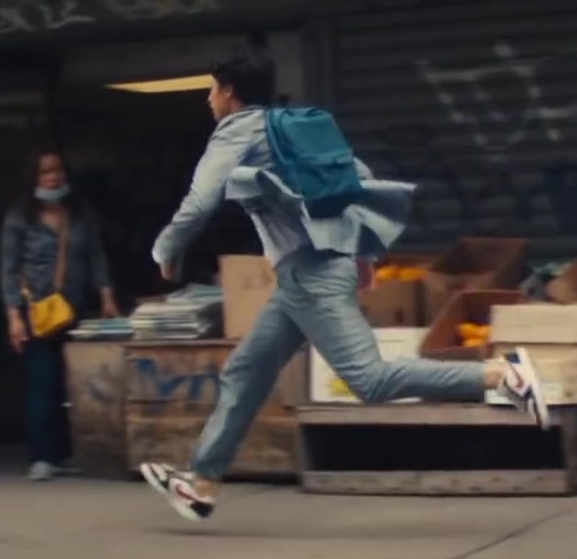 Nike Sneakers Worn by Charles Melton in The Sun Is Also a Star (2019) Movie Product Placement